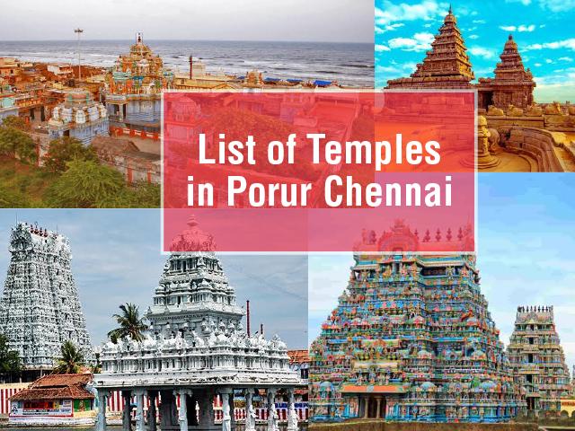 List of Temples in Porur Chennai - SPRHighliving