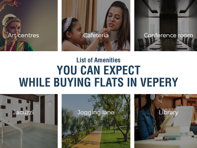 List of Amenities You Can Expect While Buying Flats in Vepery - SPR Highliving