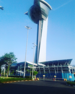 The butterfly flutters - Tallest Building of Chennai
