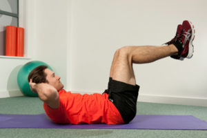 Crunches- Best Exercises to Do at Home