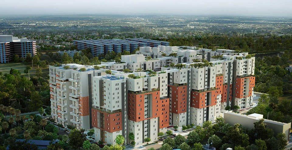 flats for sale in Porur - osian Chlorophyll by SPR Highliving