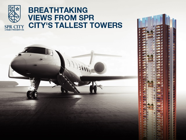 Breathtaking Views From SPR City's Tallest Towers
