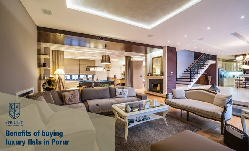 Benefits of Buying Luxury Flats in Porur - SPR Highliving